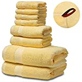 Best Luxury Bath Towels - SEMAXE Luxury Bath Towel Set. Hotel & Spa Review