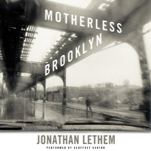 Motherless Brooklyn audiobook cover art