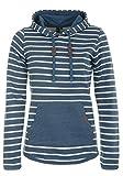BlendShe Carina Damen Hoodie Kapuzenpullover Pullover Mit Kapuze, Größe:XL, Farbe:Ensign Blue (70260)