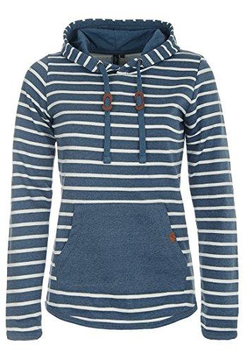 BlendShe Carina Damen Hoodie Kapuzenpullover Pullover Mit Kapuze, Größe:L, Farbe:Ensign Blue (70260)