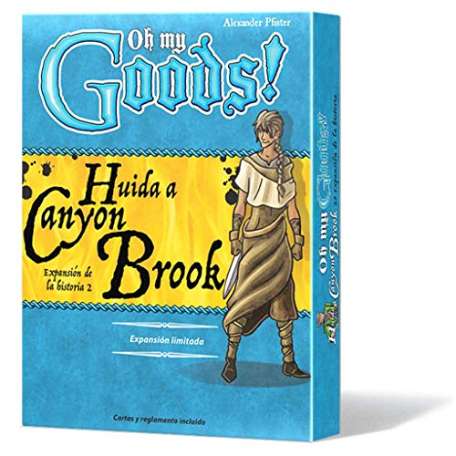Lookout Games- Oh My Goods Canyon Brook, Colore, LKGOMG03ES