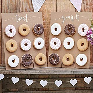 donut wall for bridal shower