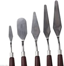 ZHENGTU Painting Knives of Various Sizes & Shapes Set of 5 (Set of 5 Painting Knife)