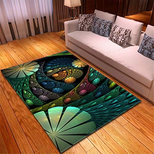 Große Matte Teppiche für Zuhause Wohnzimmer Sofa Boden Dekor Notre Dame de Paris Landschaft Hotel Boden Dekoration 150x100 cm Mehrfarben(Mehrfarben D,120x180CM)