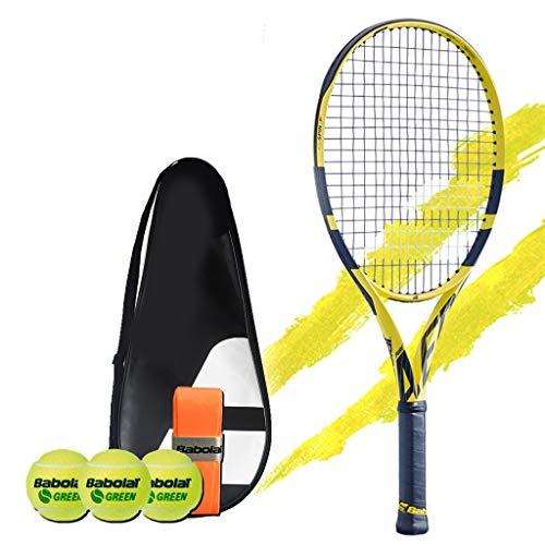 Racchetta da tennis Tennis Scuola Elementare Junior for Bambini Full Carbon Set Singolo for Principianti