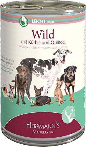Herrmanns Wild Lot de 12 sachets de Quinoa 12 x 400 g
