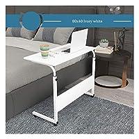 機械部品日オーバーベッドテーブルモバイルスタンドアップデスク調節可能なラップトップスタンドデスク高さ調節可能寝室に適していますリビングルームバルコニーベッドサイドラップトップオーバーベッドテーブル