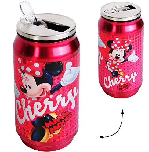 alles-meine.de GmbH Edelstahl / Thermo - Trinkflasche / Sportflasche -  Disney - Minnie Mouse  - Thermotrinkflasche / Isolierflasche - 250 ml - für Kinder - 0,25 Liter / auslau..