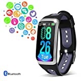 Fitness Tracker Smart Watch IP68 Waterproof Activity Tracker with Heart Rate Blood Pressure