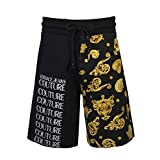 VERSACE JEANS COUTURE Pantalón Corto de Hombre con Estampado Barroco SS20 (M)