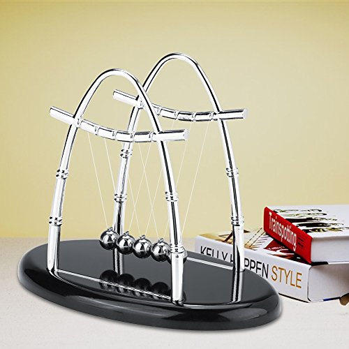 Balance Ball Newton, Balance Balls Toy, mesa de escritório durável para estudo de decoração de mesa de enfeite de casa