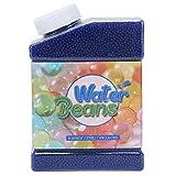 Perles d'eau, 50000 Perles d'eau Orbeez Enfants, Perles de Gel pour la décoration de Table, Fleurs réutilisables, Plantes et Boules d'eau pour vases, Cadeaux de Bricolage (1,5-2 mm) (Bleu)