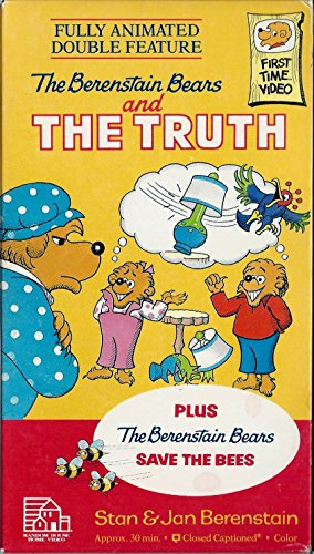 Berenstain Bears & the Truth [VHS]