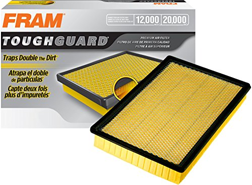 FRAM TGA9401 Tough Guard Flexible Panel Air Filter for Dodge and Ram Vehicles
