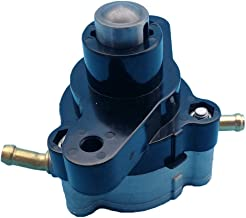 Tuzliufi Fuel Pump Replace Yamaha Outboard F75 F80 F90 F110 F115 LF115 HP Engine 68V-24410-00-00 Bent Inlet Round Top 2000 And Later 4 Stroke New Z249