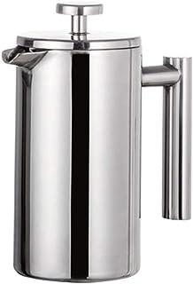 コーヒーポット ステンレススチールフレンチプレスコーヒーメーカー、SDouble城壁絶縁コーヒー&ティービールポット&メーカー||醸造コーヒーまたは紅茶、ホットキープフィルターバスケットでは、800毫升 毎日のコーヒーに (Size : 350ml)