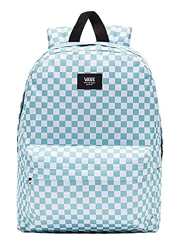 Vans Old SKOOL III Backpack Mochila Tipo Casual 42cm, 22L, Cameo Blue Check