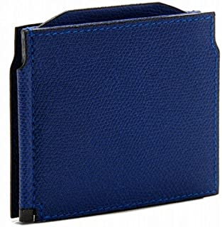 Valextra(ヴァレクストラ) 財布 メンズ グレインレザー マネークリップ ロイヤルブルー V0L54-028-00RORD[並行輸入品]