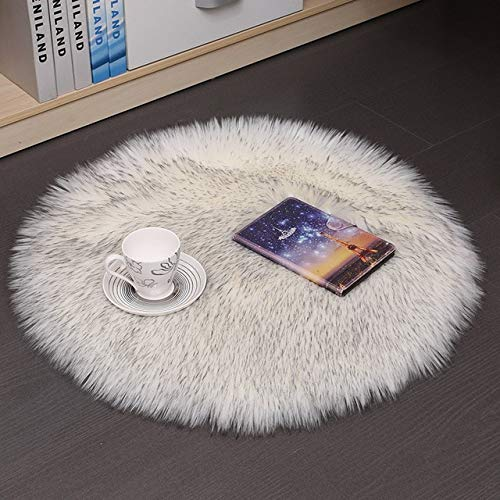 RAQ Uni wol warm kussen rond kruk zitkussen verdikking eetkamerstoel antislip zitkussen mat stoelkussen hoge kwaliteit 35x35cm 6