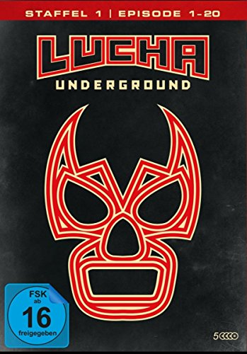 Lucha Underground 1.1 - Episode 1-20 [5 DVDs]