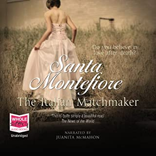 The Italian Matchmaker                   By:                                                                                                                                 Santa Montefiore                               Narrated by:                                                                                                                                 Juanita McMahon                      Length: 12 hrs and 38 mins     38 ratings     Overall 4.0