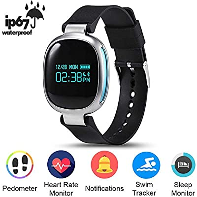 Smart Band E08 Bluetooth 4.0 Heart Rate Swimming Monitor IP67 Waterproof Fitness Tracker for IOS Android vs mi band 2 Heart Rate Monitor Sleep Fitness Tracker Call Reminder IP67 Waterproof for Android iOS