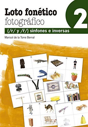 Loto Fonético Fotográfico 2: 47 (Reeducación logopédica)