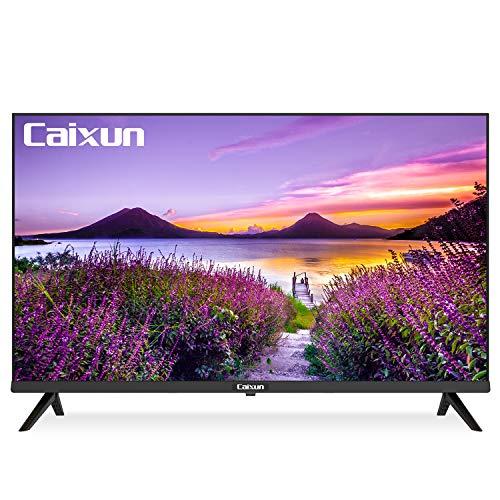 Caixun C32 Pantalla de 32 pulgadas HD 720p Smart LED HD TV - Televisión de alta resolución HDMI incorporado, USB - Pantalla de soporte Fundido Mirrorring - Frecuencia de...