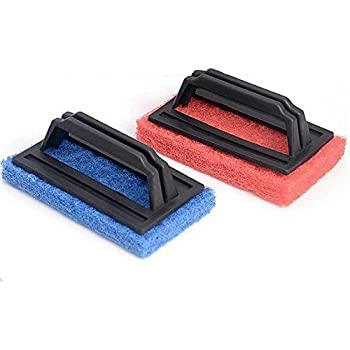Generic Tile Cleaning Multipurpose Scrubber Brush With Handle(02 Pc.)