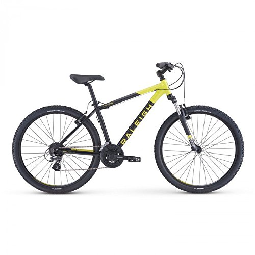 Raleigh Bikes Talus 2 Recreational Mountain Bike, Black