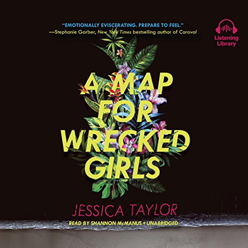 A Map for Wrecked Girls audiobook cover art