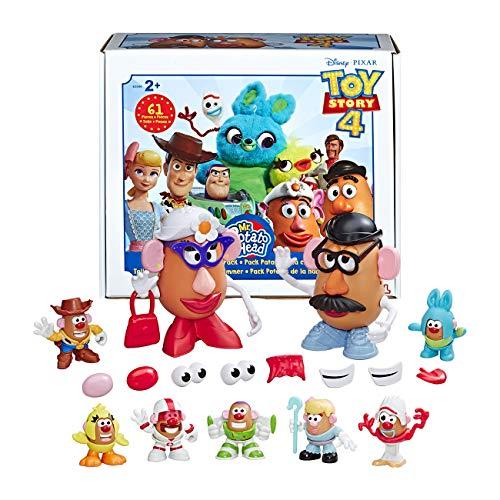 Hasbro E3066EU5 Mr. Potato Head Disney/Pixar Toy Story 4 Tolle Knollen aus Andys Spielzimmer, Spielzeug für Kinder ab 2 Jahren, Multicolour