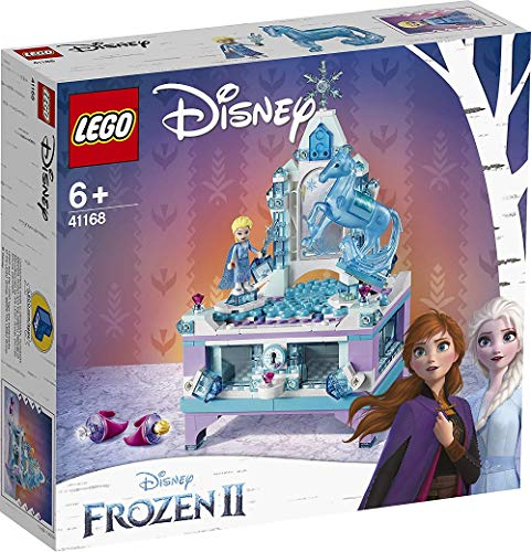 LEGO-41168-Il-Portagioielli-di-Elsa-per-Realizzare-un-Bello-Portagioielli-Ispirato-al-Castello-di-ghiaccio-di-Elsa-Set-di-Costruzioni-per-Custodire-i-tuoi-Tesori-per-Bambini-6-Anni