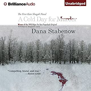 A Cold Day for Murder audiobook cover art
