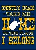 "West Virginia Souvenir House Flag 28"" x 38"""