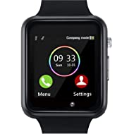 YIIXIIYN Smart Watch Bluetooth Smart Watch Sport Fitness Tracker Wrist Watch Touchscreen with...