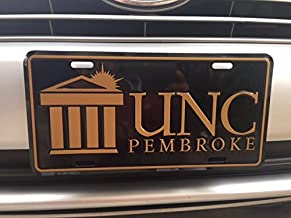 Automotive Advertising Associates, Inc. University of North Carolina at Pembroke License Plate