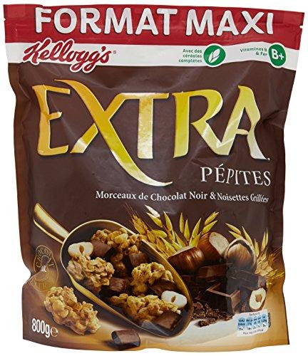 Extra Pépites Chocolat Noir/Noisette 800 g