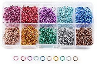 wholesale colored aluminum jump rings