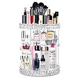 alvorog Organisateur de Maquillage 360° Rotatif Présentoir Cosmétique Réglable Vanity de Grande Capacité pour...
