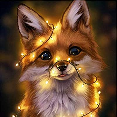 Animal Diamond Painting Kits for Adults, 5D Cry...