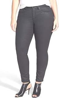 Eileen Fisher Organic Cotton Waxed Strch Denim Jeans 18W 20W 22W