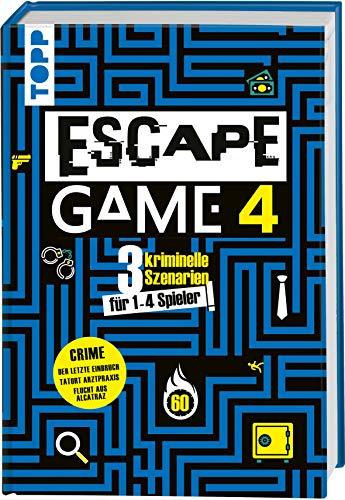 Escape Game 4 CRIME: 3 kriminell gute Escape Rooms: Der letzte Einbruch, Tatort Arztpraxis, Flucht aus Alcatraz