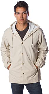 Independent Trading Co. Men's Windbreaker Jacket with Hood