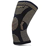 Copper Knee Support for Arthritic Pain Men &Women- Compression Knee Sleeve for Joint