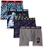 Marvel Boys' Little Avengers Athletic Boxer Brief, End Game Multi, 6
