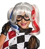Rubie's Costume Girls DC Super Hero Harley Quinn Wig