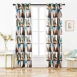 Dalina Textil 2 Piezas Cortina con Estampado Multidiseño para Salón o...