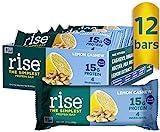 Rise Pea Protein Bar, Lemon Cashew,...
