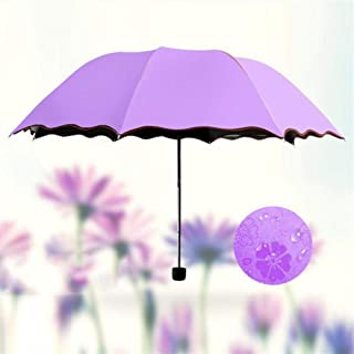 Uv Umbrella Folding Portable Waterproof,Purple